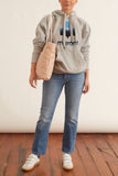 Mansel Sweatshirt in Grey