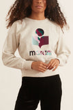 Mobyli Sweatshirt in Ecru