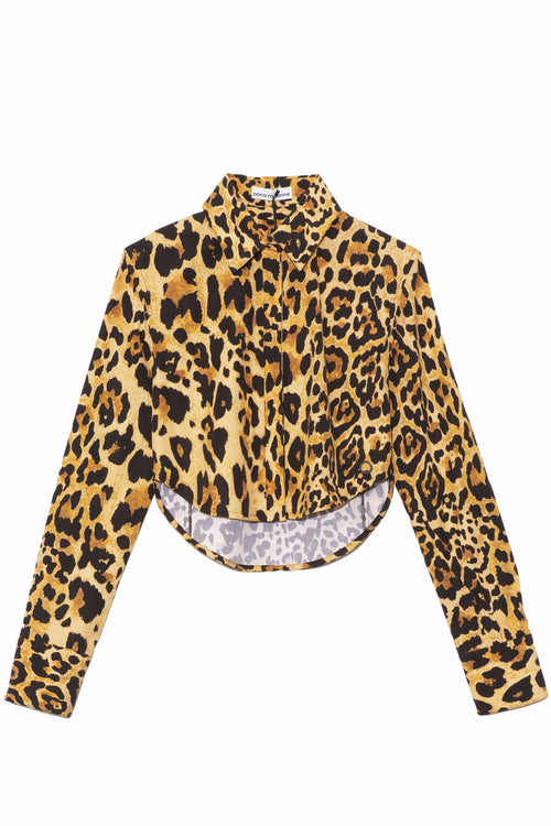 Chemise Leopard Top in Leopard