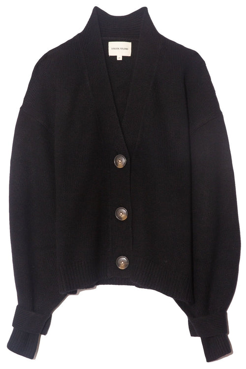 Tiberine Cardigan in Black