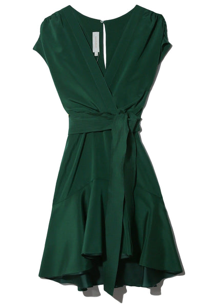 Garine Dress in Emerald
