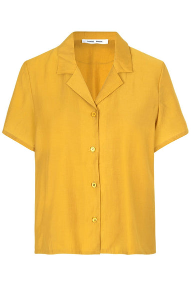 Joni Short Sleeve Shirt in Honey