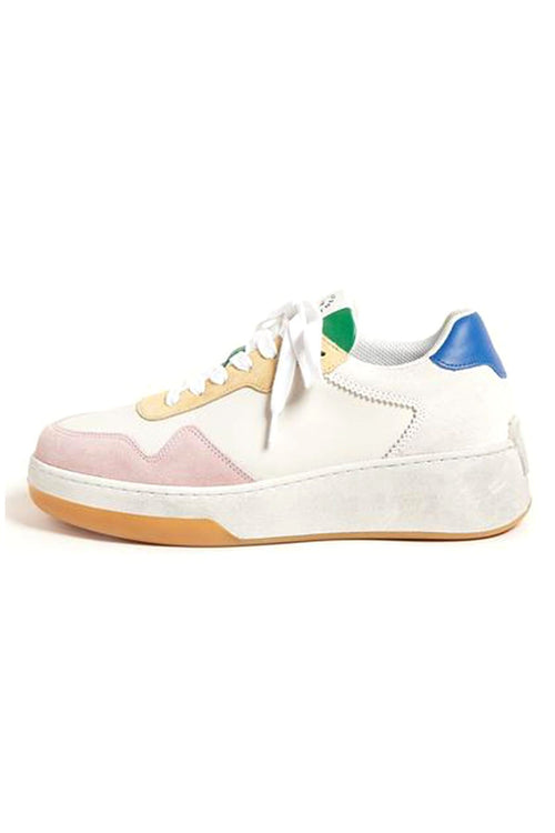 Keira Low Top Platform Sneaker in Rainbow