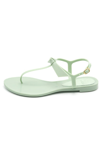 Clarita Jelly Sandal in Aloe