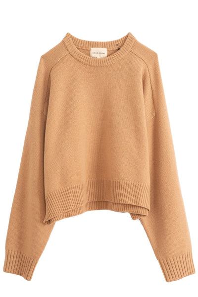 New Bruzzi Oversized Sweater in Noisette
