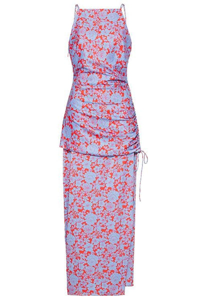 Lennon Midi Dress in Lennon Print