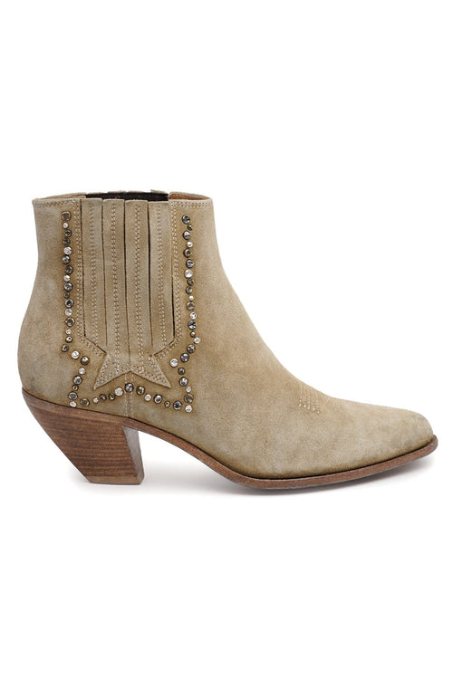 Sunset Suede Boot in Cuoio