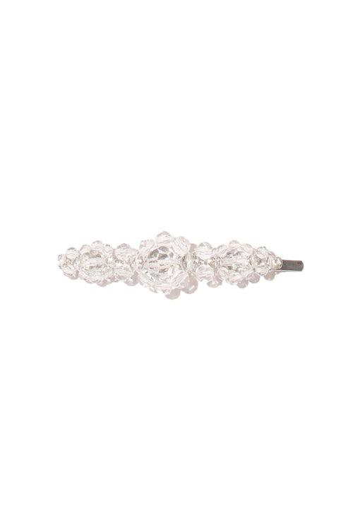 Large Flower Hair Clip in Clear