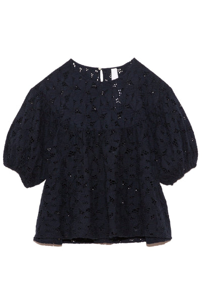 Paraiso Blouse in Navy