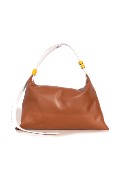 Puffin Bag in Tan Multi