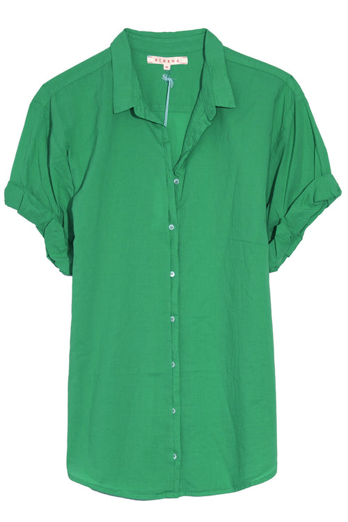 Channing Shirt in Palm Green