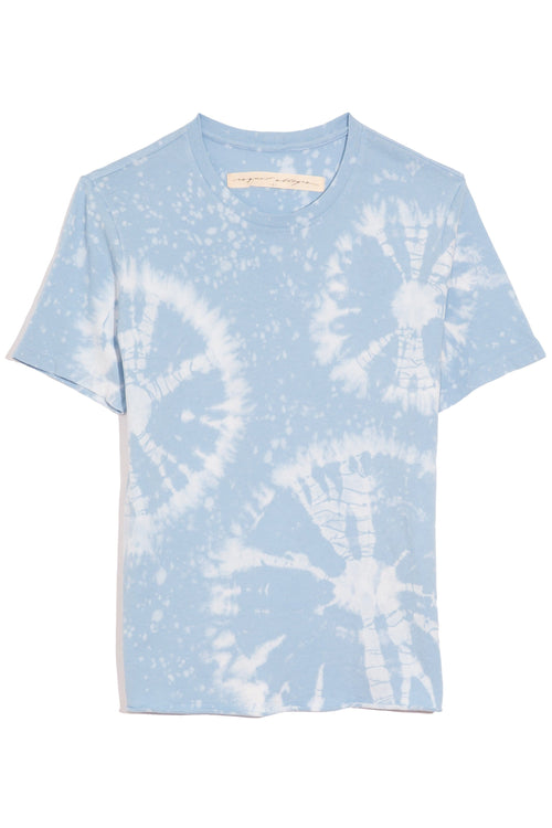 Boy Tee in Blue Constellation Tie Dye