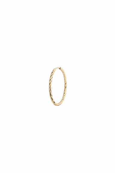 Liv Hoop 15 in Yellow Gold