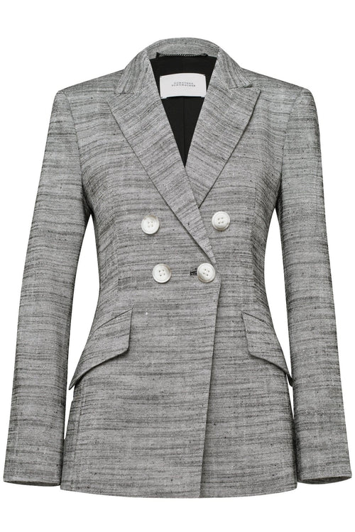 Structured Ambition Jacket in Small Salt and Pepper TS