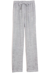 Drawstring Trouser in Dusty Blue