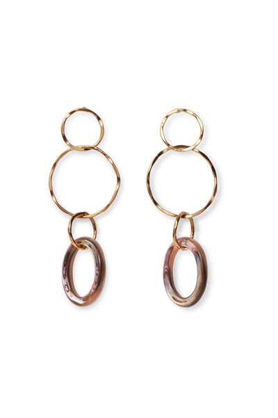 Lake City Earrings in Abalone