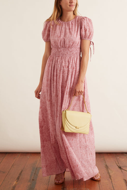 Giselle Maxi Dress in Pink/Blush