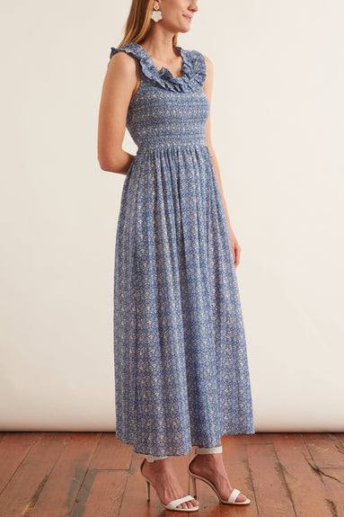 Tessa Dress in Bluebird