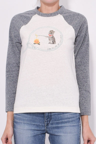 Cowboy Cat T-Shirt in Paloma Melange