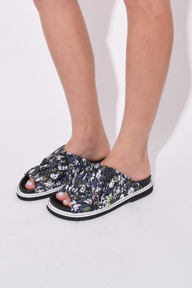 Fabric Wrap Sandals in Kalamata