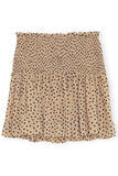 Printed Georgette Skirt in Tannin