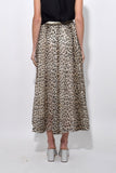 Savage Vanity Print Long Skirt in Desert