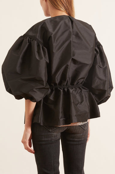 Taffeta Jacket in Black