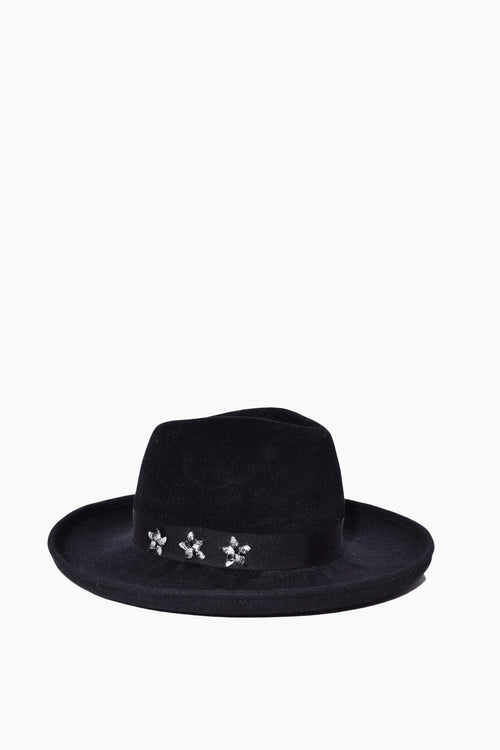 Hutton Hat in Black