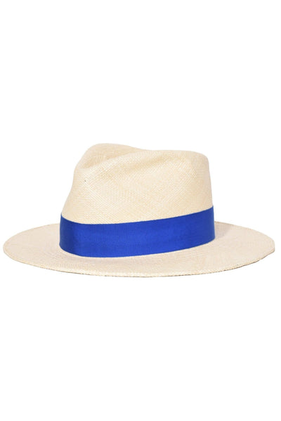 Ohara Hat in Natural/Blue