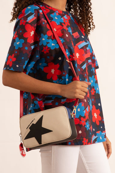 Star Bag in White/Black/Blue/Red