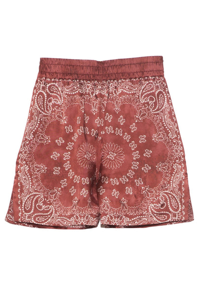 Cinderella Short in Orient Red