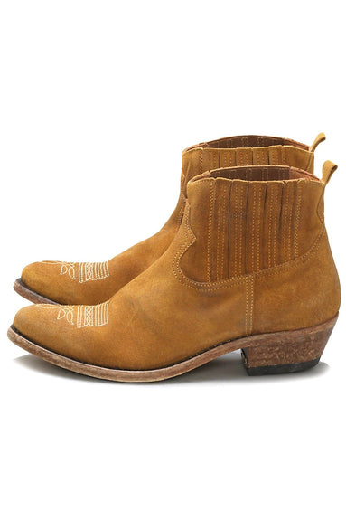 Crosby Boot in Senape Suede
