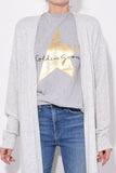 Golden T-Shirt in Melange/Golden Star