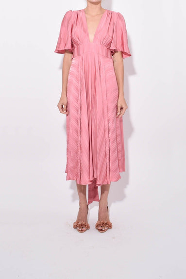Hana Dress in Dusty Pink