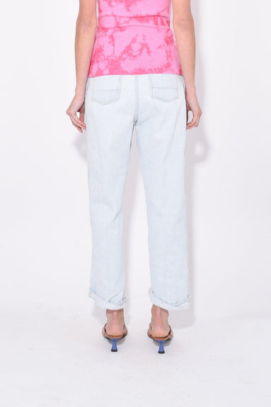 Kim Pant in Light Blue Wash