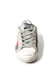 Superstar Sneakers in Camo Canvas/Fuschia Suede Star