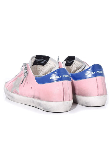 Superstar Sneakers in Pink Nabuk/Ice Star