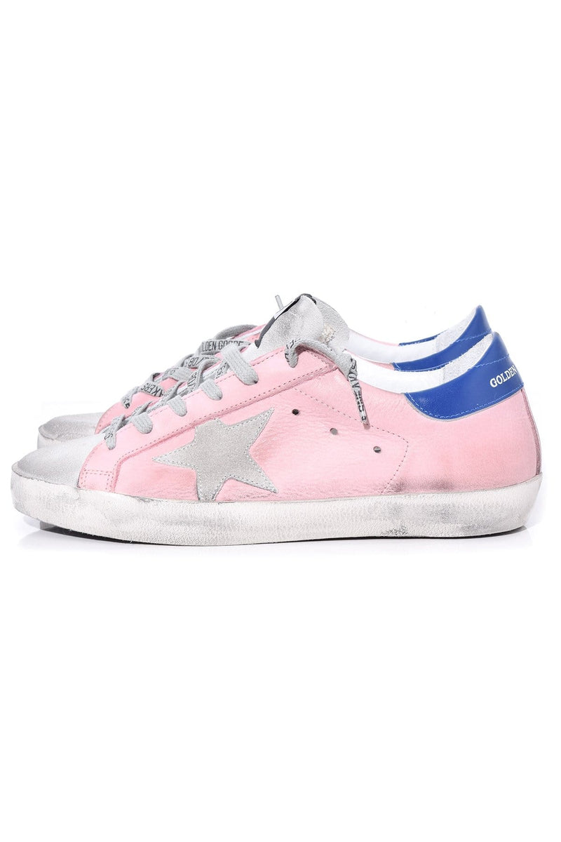 golden goose with pink star