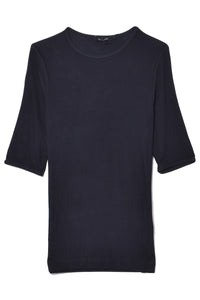 The Bound Sleeve T-Shirt in Darkest Navy