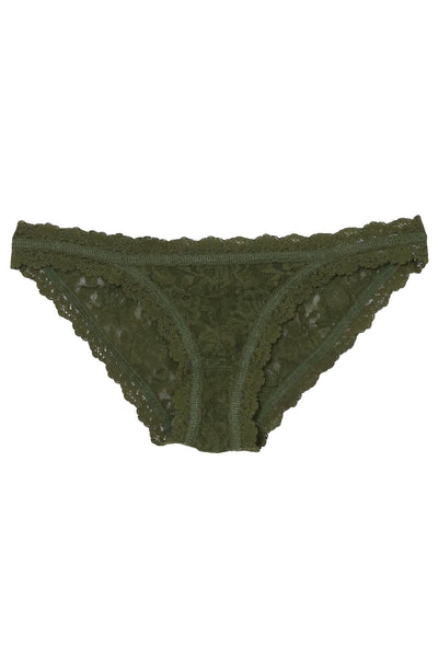 Brazilian Bikini in Woodland Green