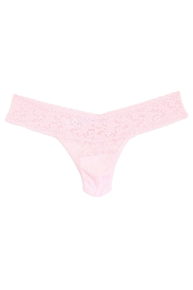 Low Rise Thong in Bliss Pink