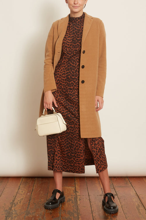 Overcoat in Tan