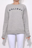 Logo Sweatshirt in Grey