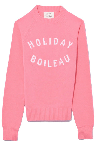 Holiday Sweater in Pink