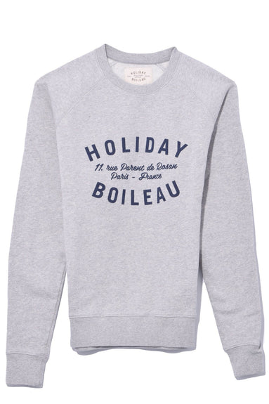 Holiday Sweatshirt in Grey