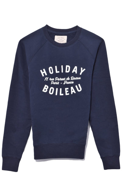 Holiday Sweatshirt in Navy