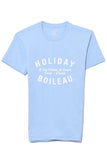 Holiday T-Shirt in Light Blue