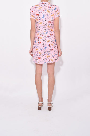 Mini Morgan Dress in Pink Miami
