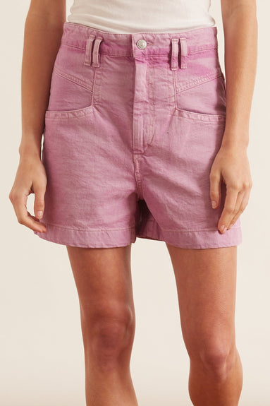 Esquia Shorts in Rosewood
