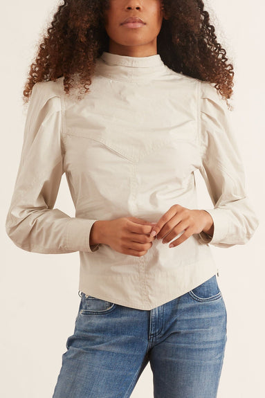 Kespera Top in Chalk